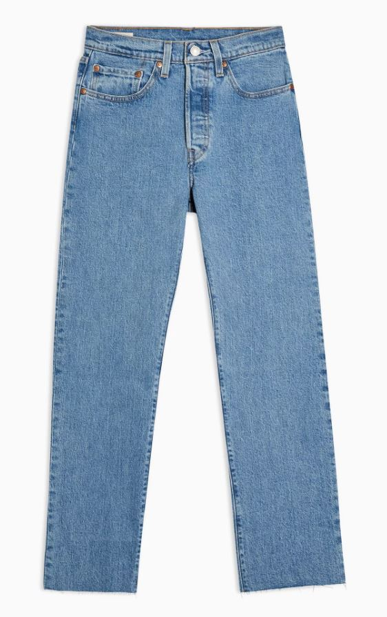 501 Cropped Jeans By Levi's