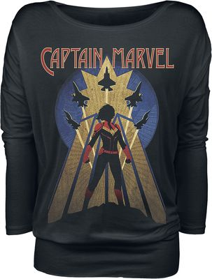 Captain Marvel Air Force Long Sleeve Shirt