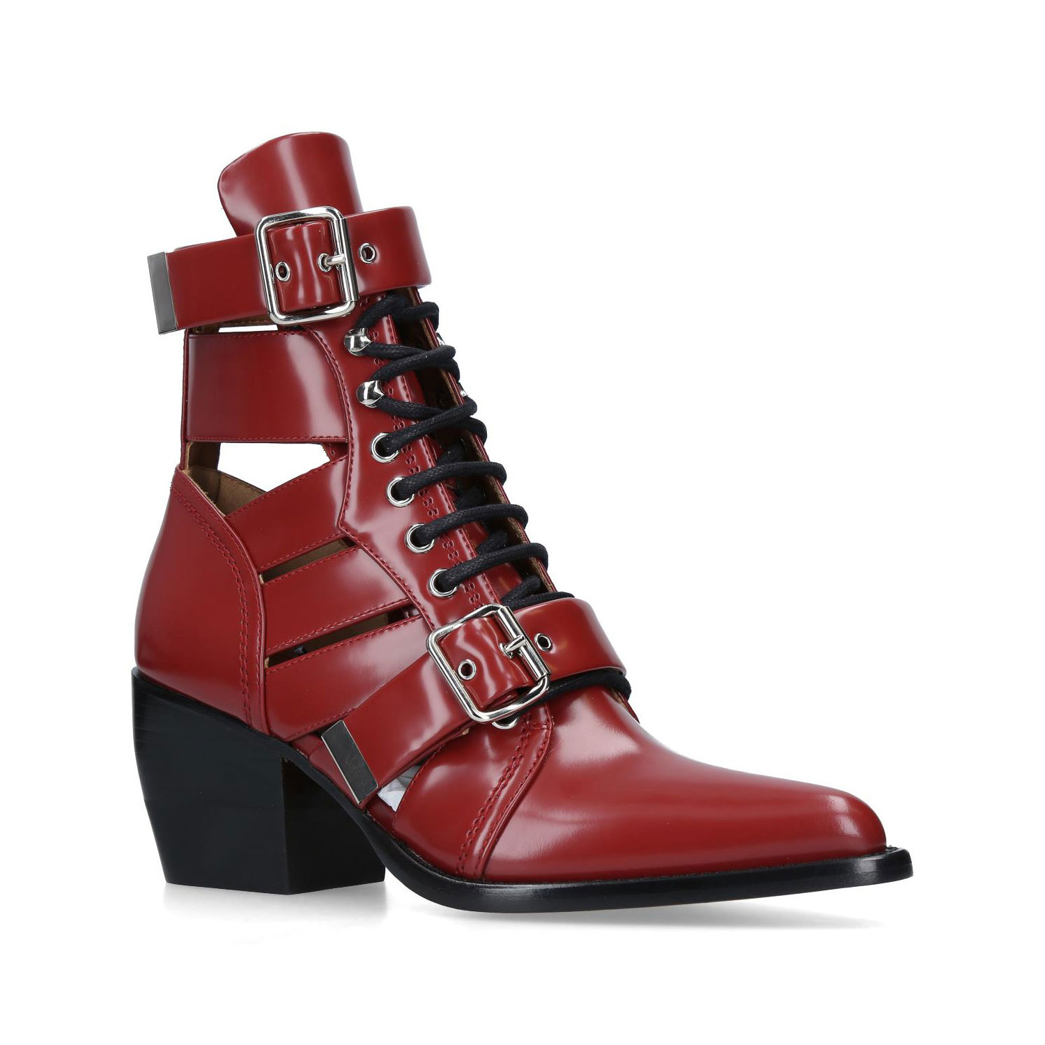 Chloe Rylee Lace-up Boots