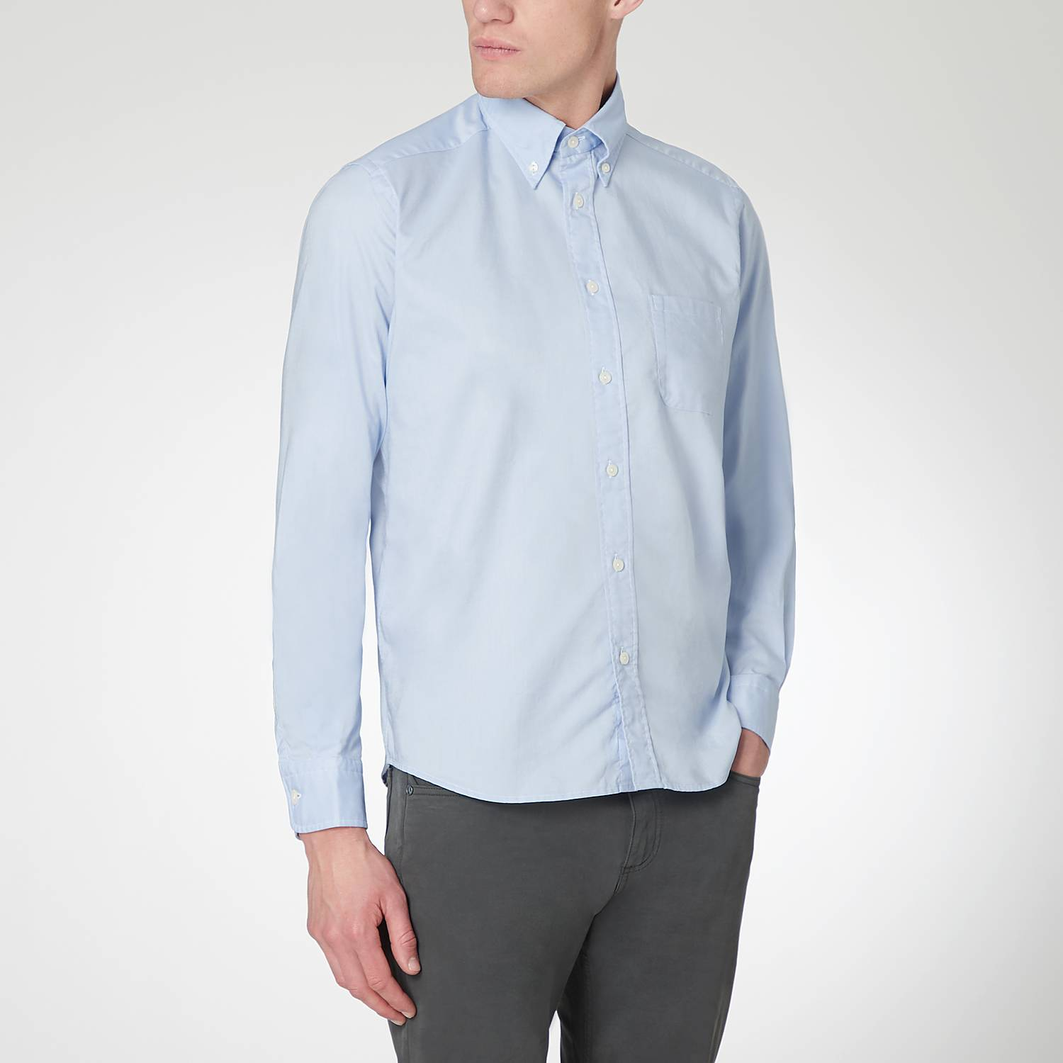 ETON Stretch Oxford Shirt