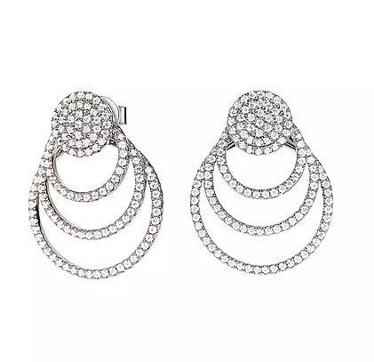 Folli Follie Fashionably Circular Earrings