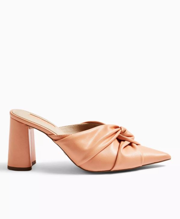 Friday Apricot Knot Mules