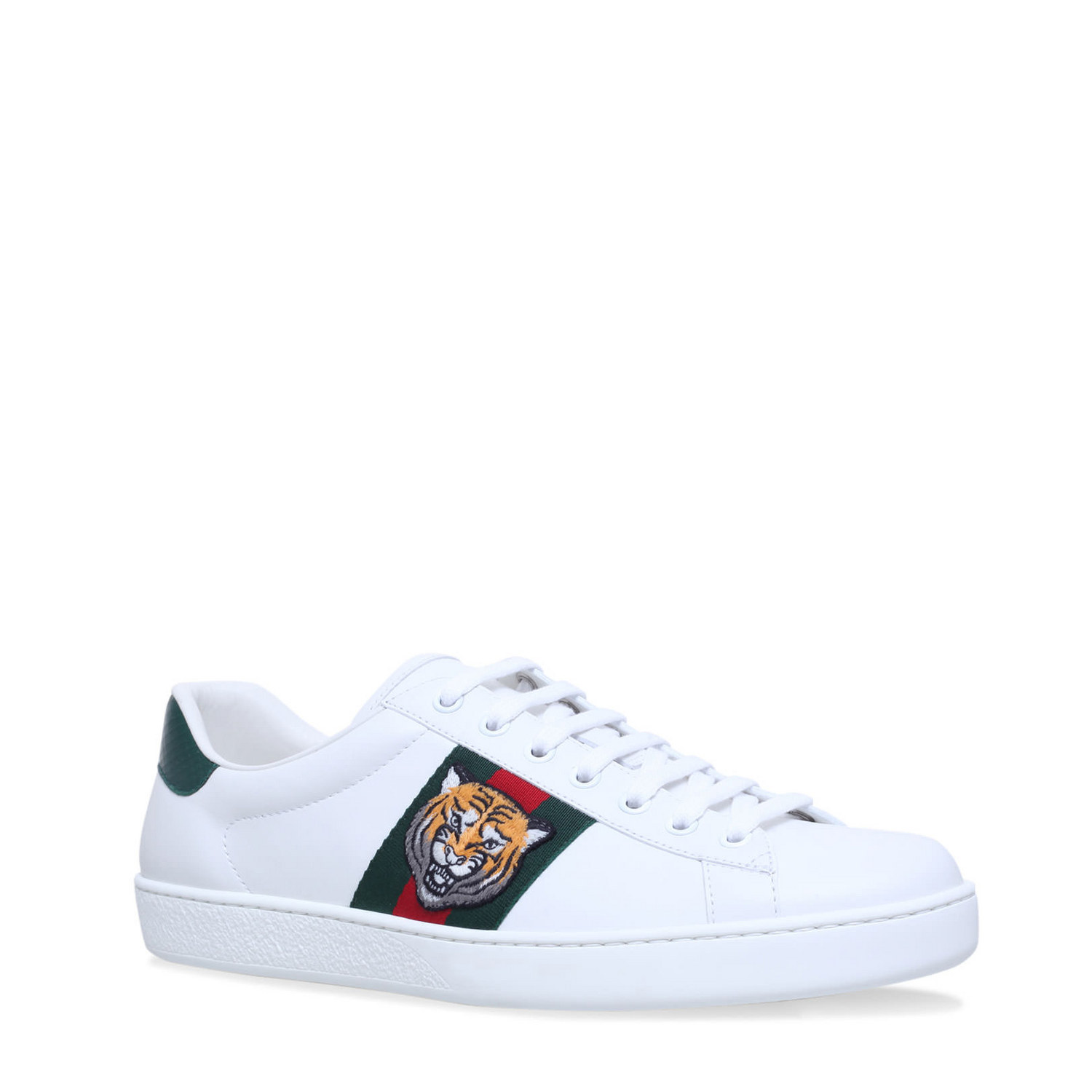 Gucci Ace Tiger Webbed Trainers