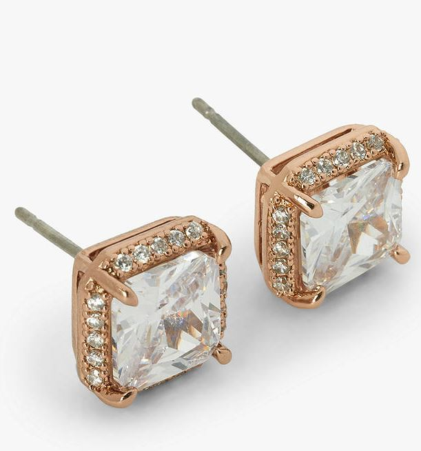 Kate Spade New York Rose Gold Studs