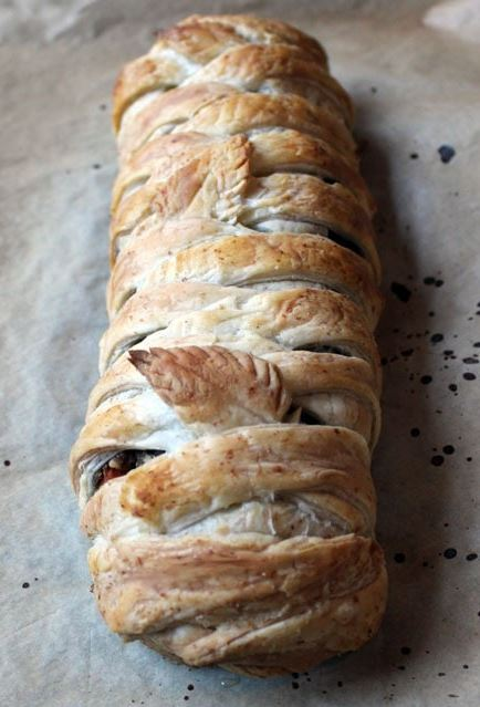 Puff Pastry Wrapped Lentil Loaf