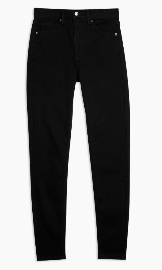 Pure Black Jamie Skinny Jeans