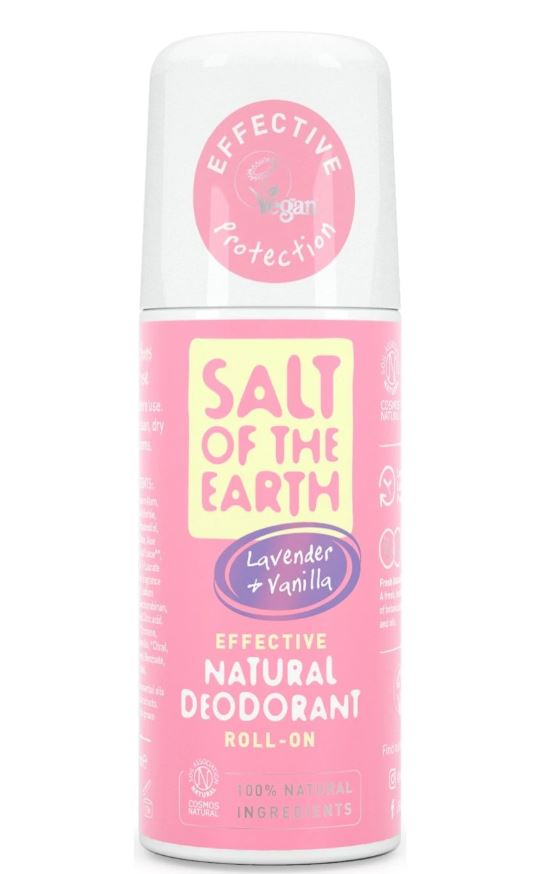 Salt of the Earth Lavender and Vanilla Natural Roll-On Deodorant