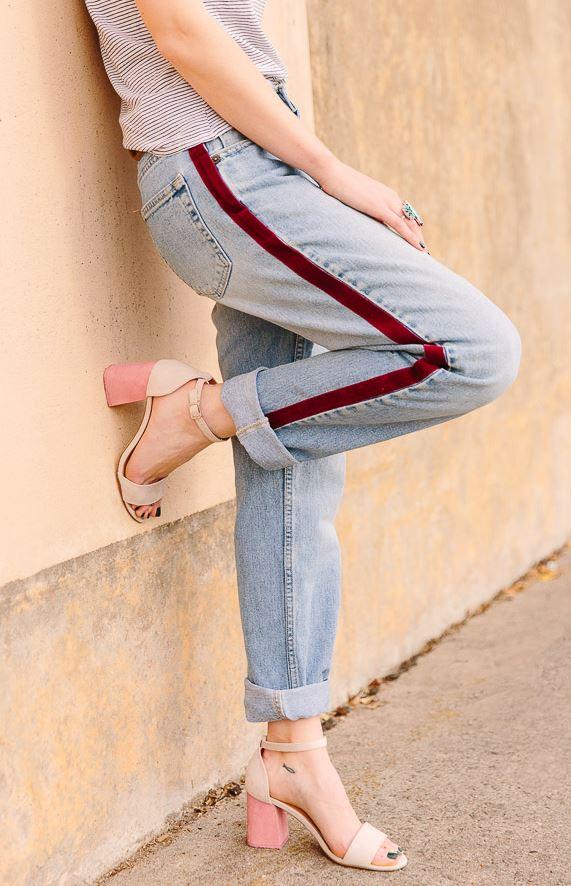 1.Side-Stripe Pants