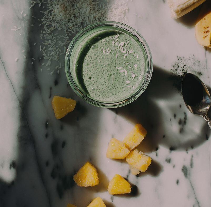 Super Healthy Green Colada