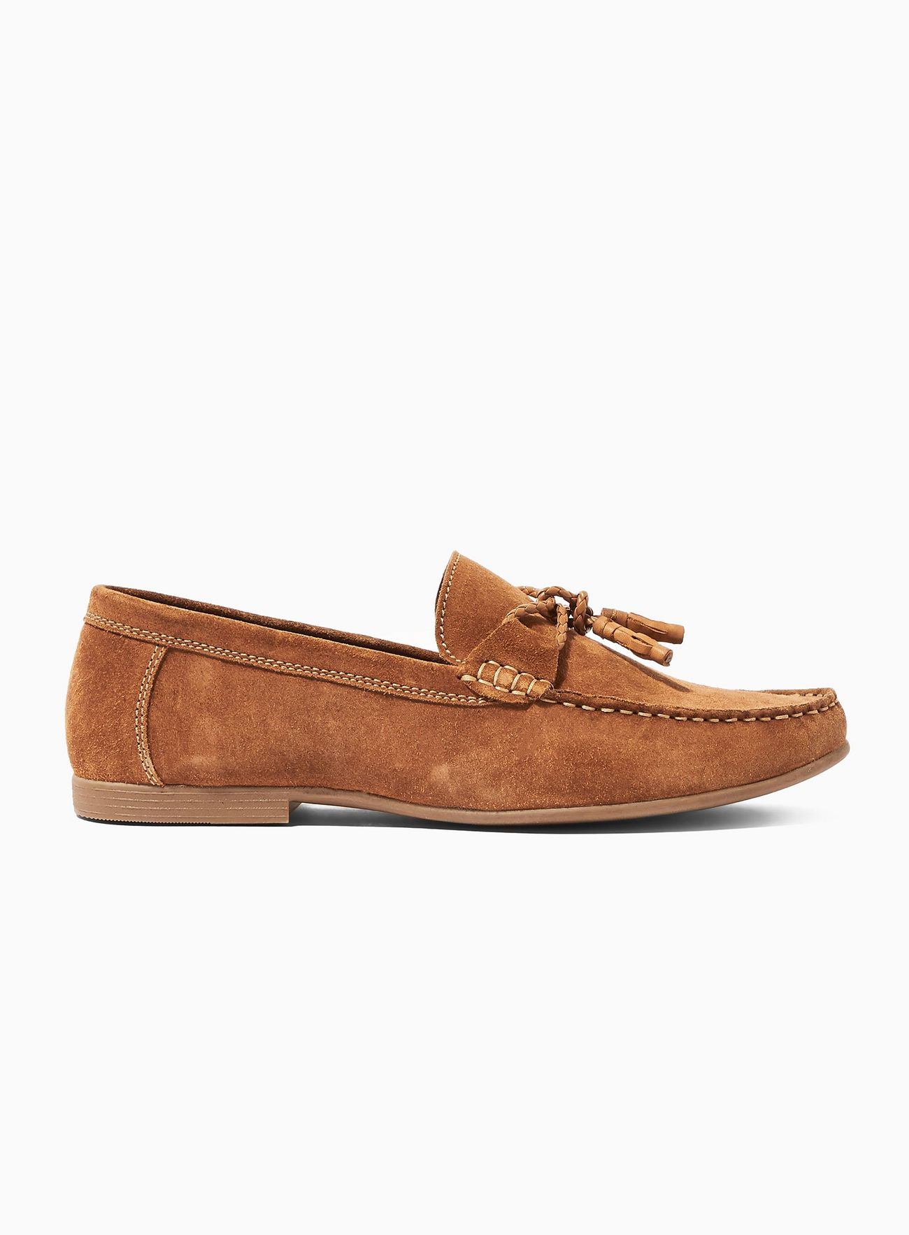 Tan Suede Mason Loafers