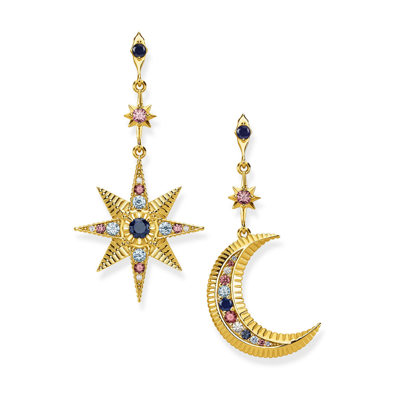 Thomas Sabo Kingdom of Dreams Star & Moon Earrings