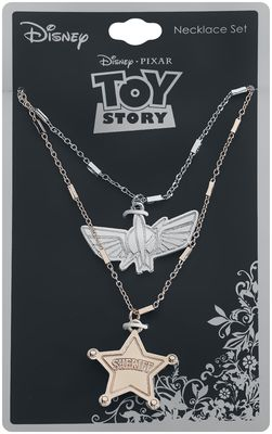 Toy Story Buzz And Woody Necklace