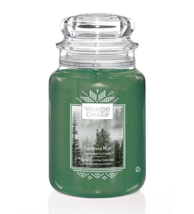 Yankee Candle Evergreen Mist Candle