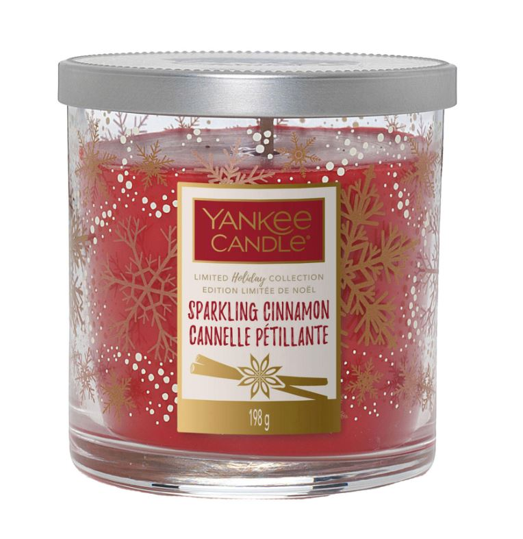 Yankee Candle Sparkling Cinnamon Candle