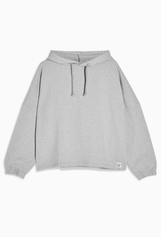 Considered Grey Recycled Hoodie