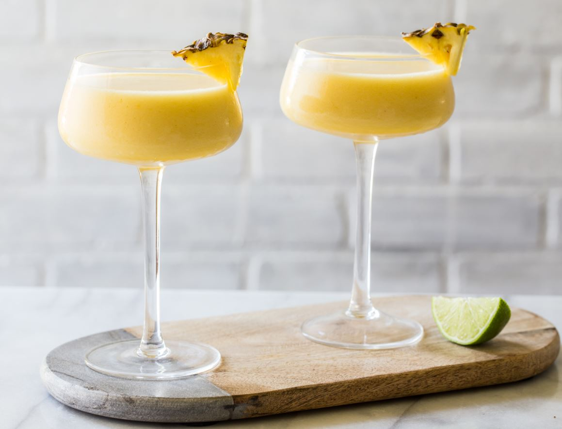 Frozen Pineapple Mango Daiquiris