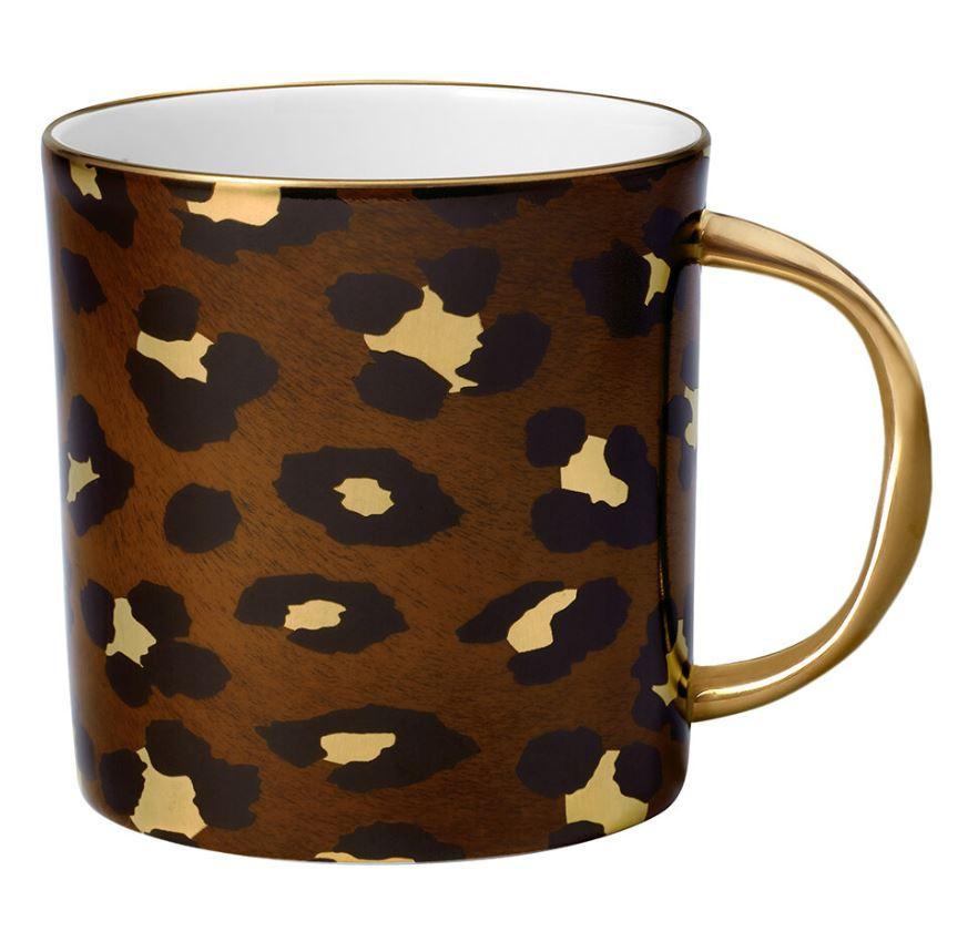 L'Objet Leopard Mug