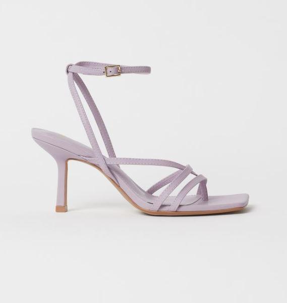 H&M Lilac Sandals