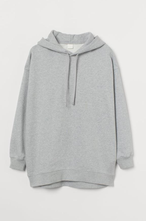 Oversized Cotton Hoodie