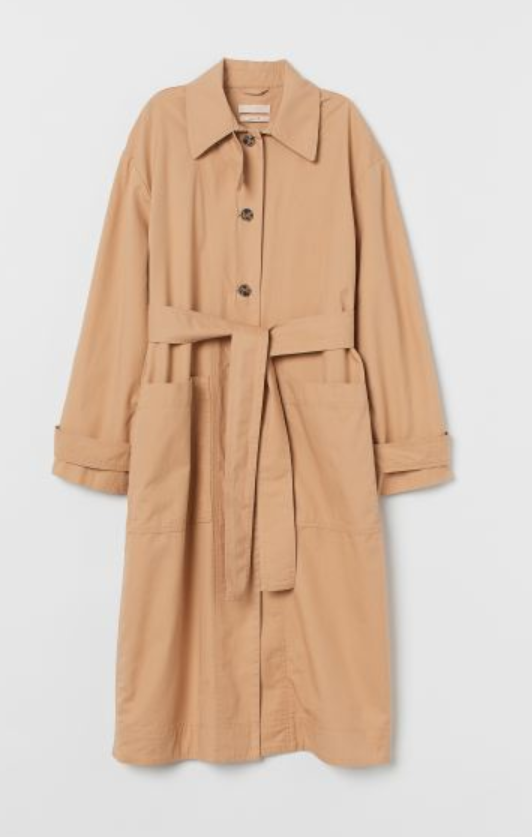Pima Cotton Trenchcoat