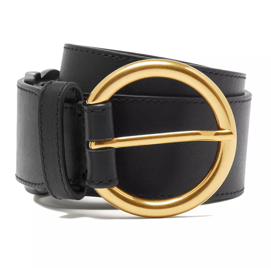 Sandro Split Leather Belt