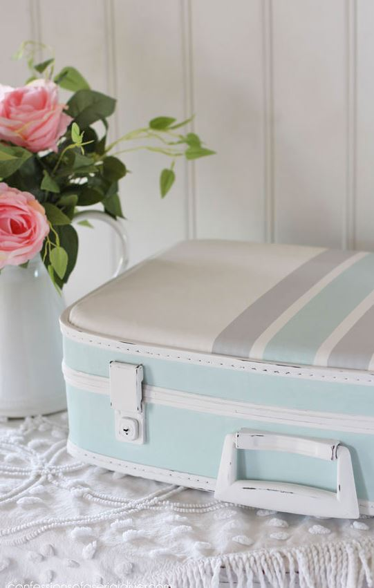 Give a suitcase a makeover