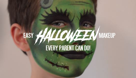 Easy Halloween Makeup Every Parent Can Do
