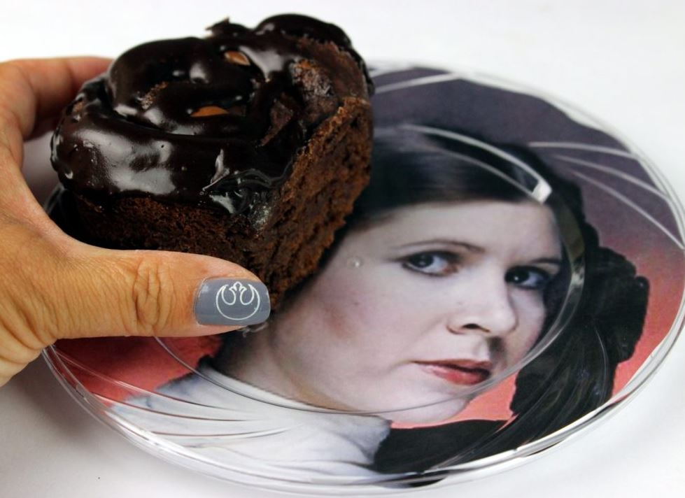 Princess Leia Nutella Buns