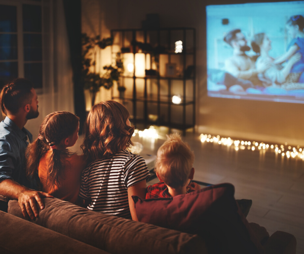 Stay At Home Club - Essentials For A Great Family Movie Night